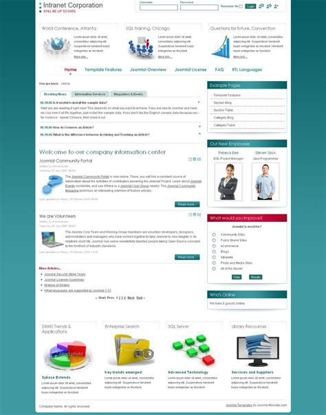 intranet templates quelques liens utiles
