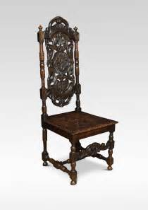 antique side chairs jacobean revival carved oak side chairs antiques atlas
