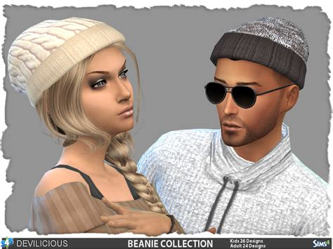 sims 4 beanie devilicious beanie collection adult 26 kids 24