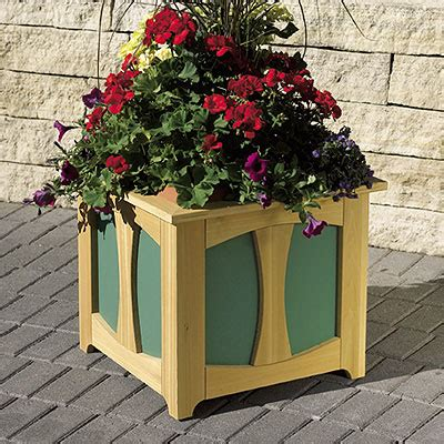 Outdoor Planter Boxes Plans by Patio Planter Box Woodworking Plan From Wood Magazine
