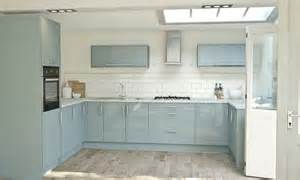 Wren Kitchen Cabinets by Pacrylic Blue Quartz Gloss Kitchen Wren Kitchens