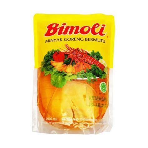 Minyak Goreng Sania Di Indo jual bimoli minyak goreng 2 liter pouch harga murah kota