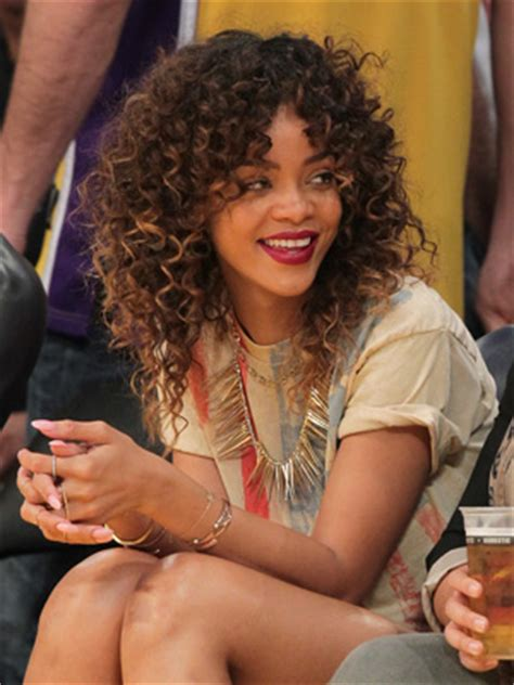 what hair products does rinna use rihanna embraces her curly side