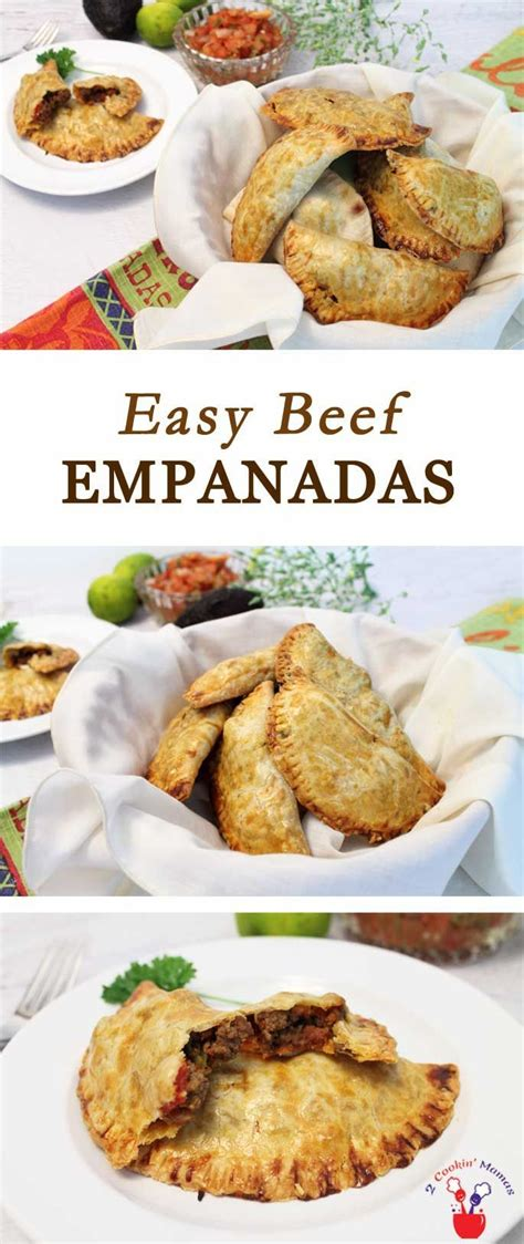 easy beef empanadas recipe  recipes easy cheap dinner recipes beef recipes appetizer