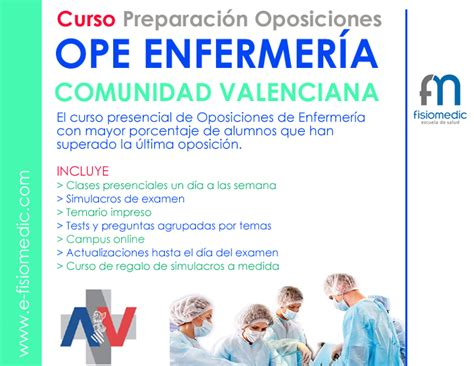 convocatoria oposiciones comunidad valenciana para 2016 publicada nueva convocatoria de enfermer 237 a e fisiomedic