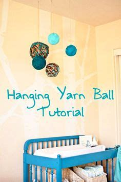 crafts for baby room baby room craft ideas on yarn nurseries