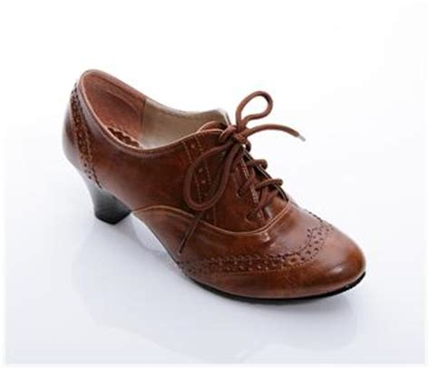 Boots Oxford Kulit Brown bn classics lace ups oxford heels shoes boots booties
