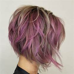hairstyles with peekaboo purple layer 40 layered bob styles modern haircuts with layers for any