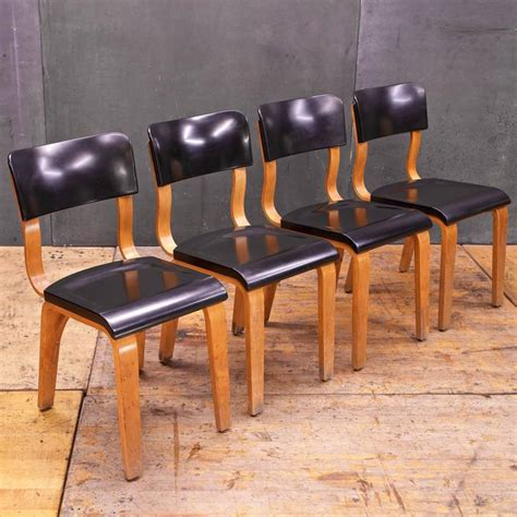 Thonet Dining Chair Bakelite And Bentwood Thonet Dining Chairs At 1stdibs