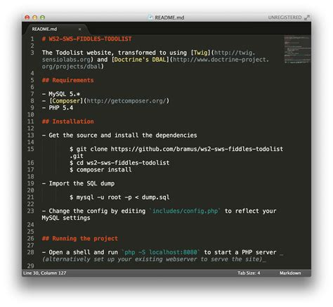 sublime text markdown syntax highlighting bram us