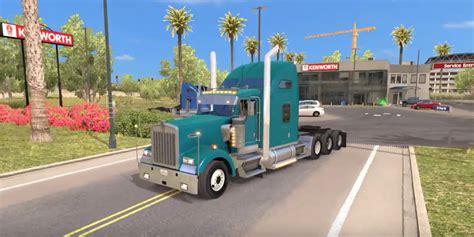 kenworth custom parts kenworth w900 tri drive custom by bu5ted truck ats mod