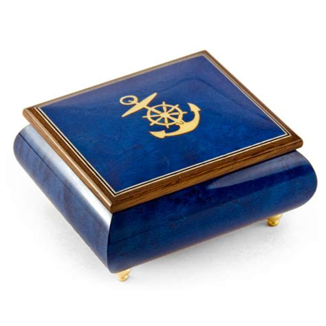 nautical music nautical music box anchor with compartment 1 18