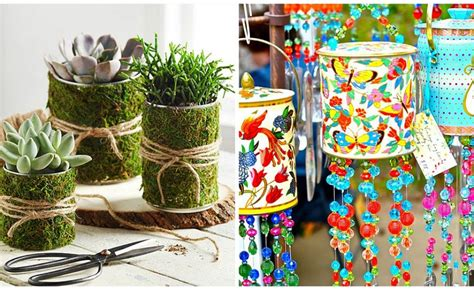 diy crafts with tin cans 14 diy tin can ideas houz buzz