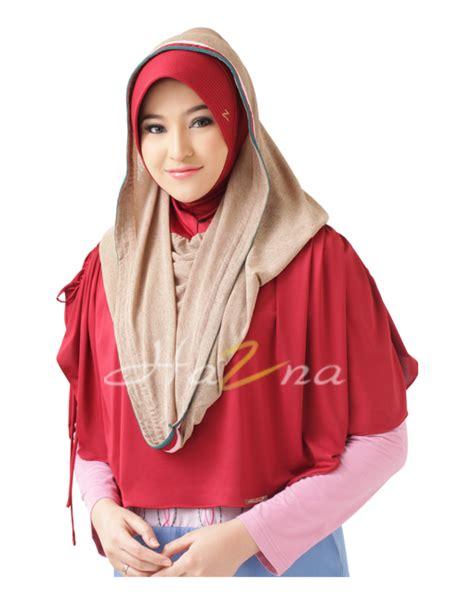 Jilbab Hazna Hj 058 hazna hj 060 sisa warna hitam jilbab dan busana muslim