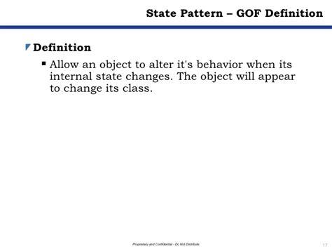pattern behavior definition design patterns