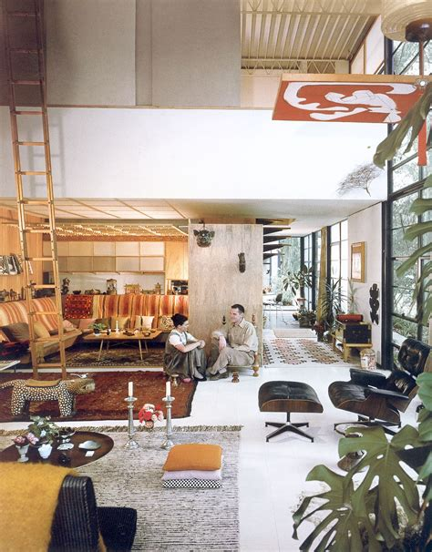eames house interior photo gallery eames foundation