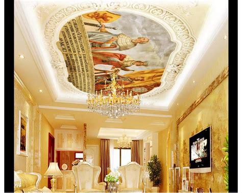 ceiling wallpaper murals 3d wallpaper 3d ceiling wallpaper murals european style