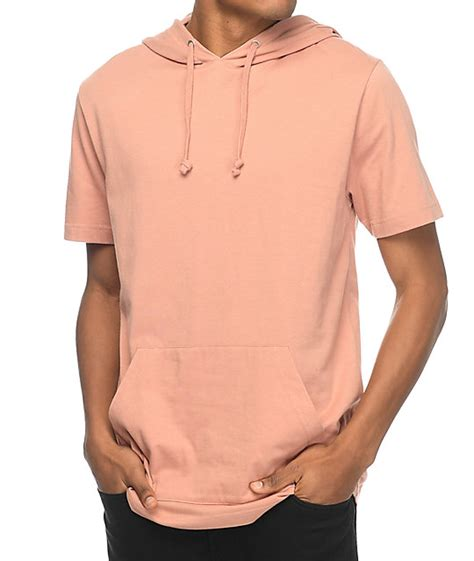 zine heading home copper short sleeve hoodie at zumiez pdp