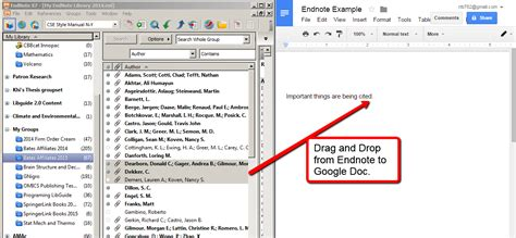 format footnotes google docs google docs endnote research guides at bates college