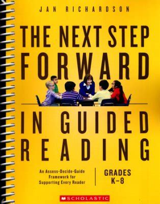 the next step forward in guided reading book the guided reading s companion what is guided reading the measured