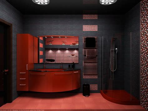 bathroom black red white: black and red black and red bathroom ideas black and red bathroom