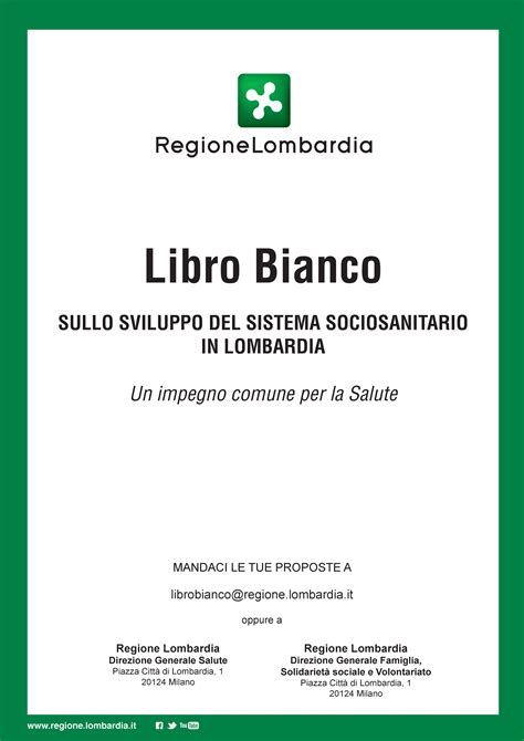 libro bianco sicurezza alimentare regione lombardia presenta il libro bianco azienda socio