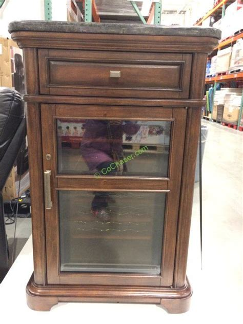 bar cabinet with wine cooler tresanti wine cabinet with 24 bottle cooler costcochaser