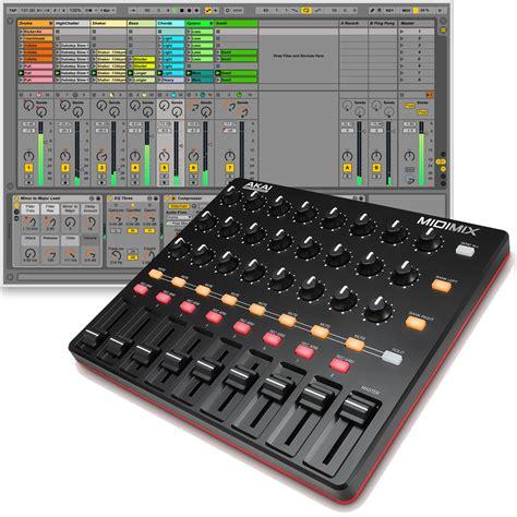 ableton lite akai midimix usb mixer controller the disc dj store