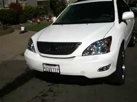 pimped lexus rx 350 custom lexus rx330 with rims and slap youtube