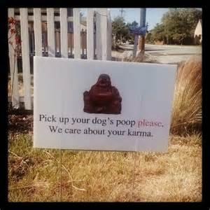 dog poop backyard karma dog poop yard sign 35 00 via etsy tired of my