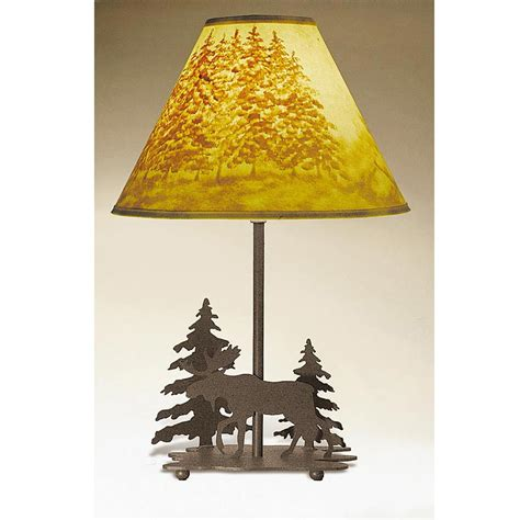 pine cone l shade rustic l shades wildlife l shades in home designs