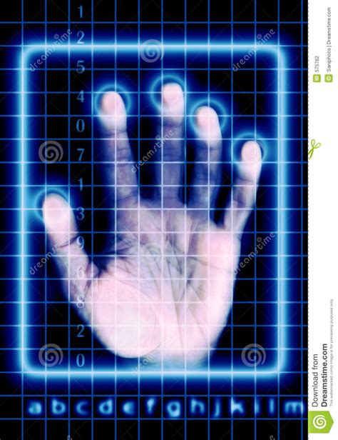 security scan security scan stock photography image 575762