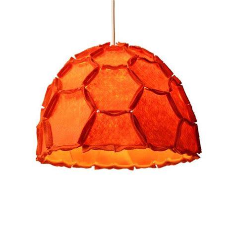 orange chandelier shades dyer steel 12 quot wide orange drum shade swag