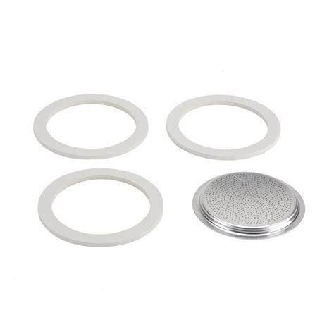 Bialetti Dama 1 Cup bialetti replacement gasket filter 1 cup moka dama