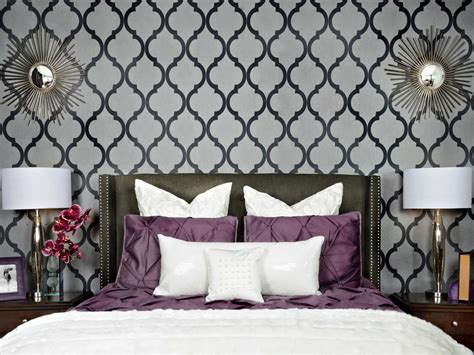 grey room wallpaper photos hgtv