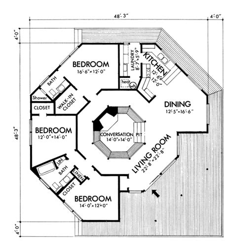 octagon shape house plans octagon shape house plans 15 harmonious octagon shaped house plans house plans 49691
