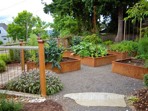 raised vegetable garden design australia home