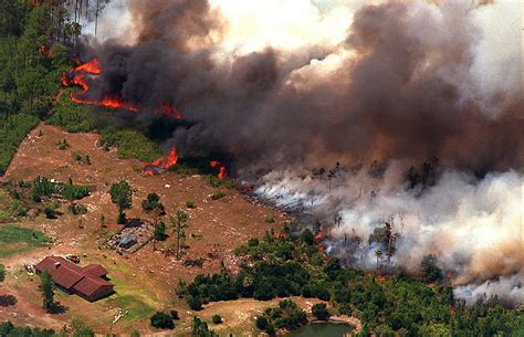florida wildfires florida s worst natural disasters 1998 florida wildfires