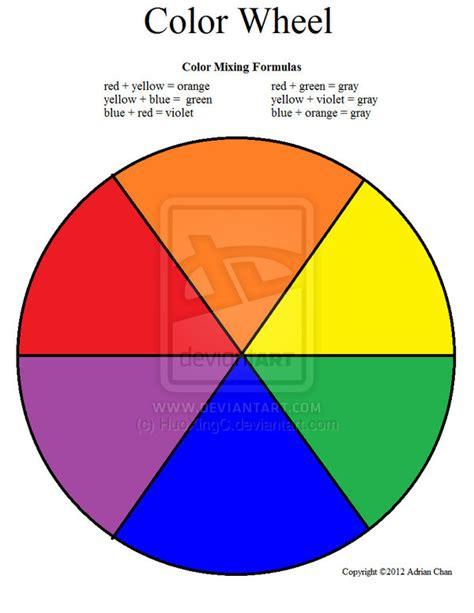 Color Wheel Worksheet by Color Wheel Worksheet Colored By Huoxingc On Deviantart