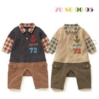 Romper Lucu Sapi Motif kodomotachi baby shop baju bayi laki laki