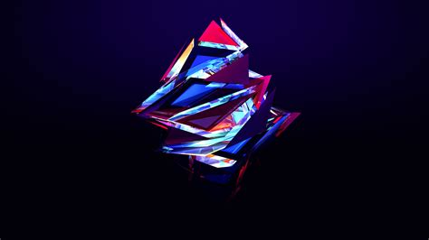 abstract triangles wallpapers hd wallpapers id