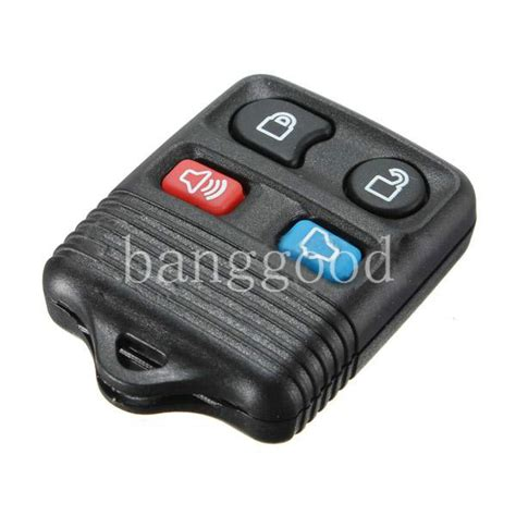 resetting ford key 4 buttons keyless remote key fob case shell cover for ford