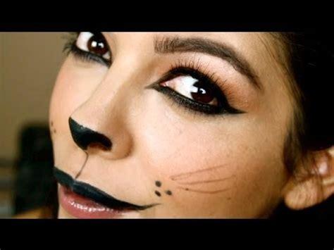 cat makeup tutorial how to make a cat face for halloween buzzpls com