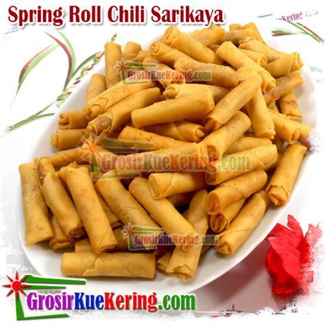 Sring Roll Sumpia Special Sarikaya grosirkuekering pusat grosir kulakan snack dan kue kering