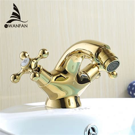 European Bidet Faucets by Aliexpress Buy Europe Style Gold Bidet Faucet