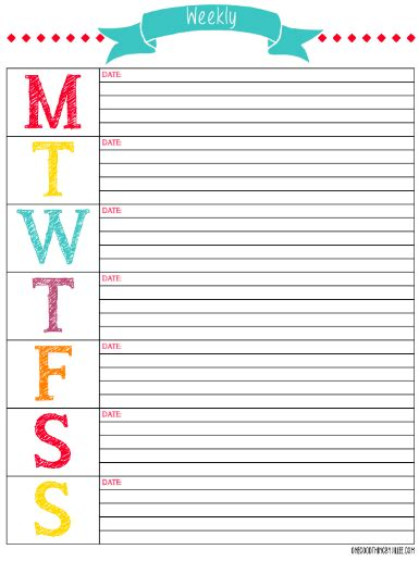 girly daily planner printable 33 of our best organizing tips and free printable planners
