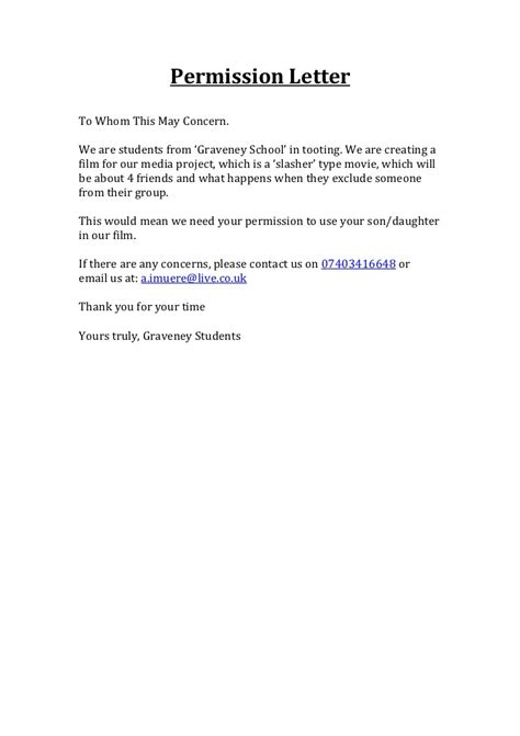 parental consent letter sle parents consent letter template parental consent consent letter