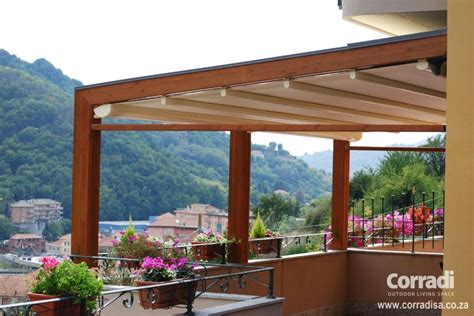 Garden Patio Awnings by Pergotenda Patio Awnings With Retractable Roofs By