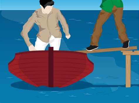 boats on board how to board a small boat 5 steps with pictures wikihow