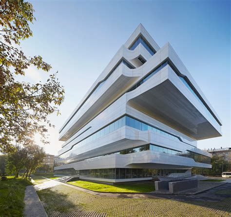creative architecture zaha hadid dominion office building in moscow